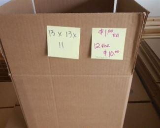 """13""""  x 13""""  x 11"""" boxes  y the bundle"""