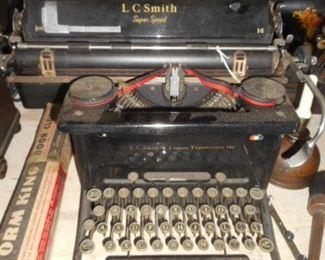 Vintage typewriters.   L  C Smith