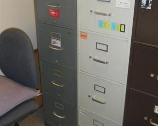 Standard file cabinets