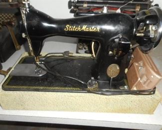Stitch master sewing machine