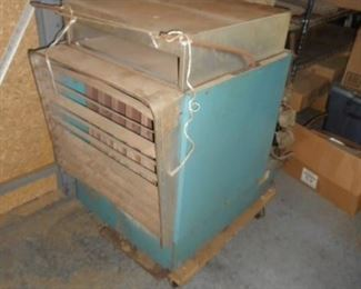 Gas fired commercial heater