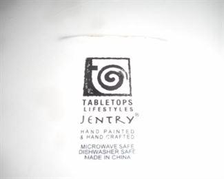 Jentry dish ware