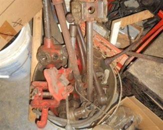 Pipe threading equipment Ridgid