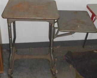 Vintage typewriter stand