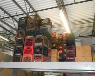 More plastic crates
