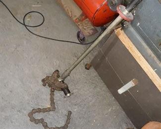 Ridgid soil pipe cutter