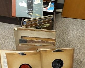 Vintage 78rpm  records