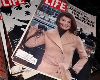 Vintage LIFE Magazines