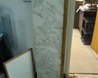 "Carrera marble  50""  x  15 1/2"""