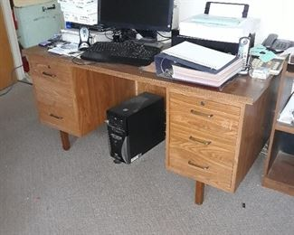 One of three desks available