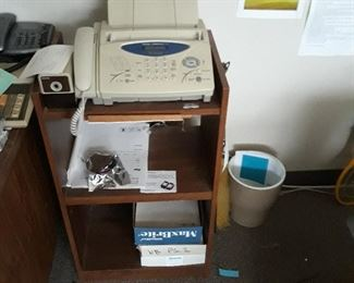 Fax machines and office table stand