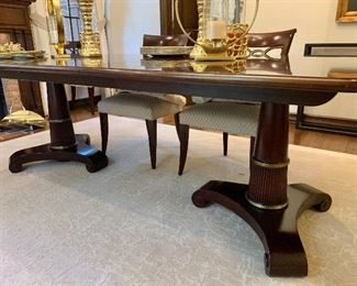 Gorgeous Baker dining table