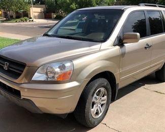 Honda Front Passenger Side