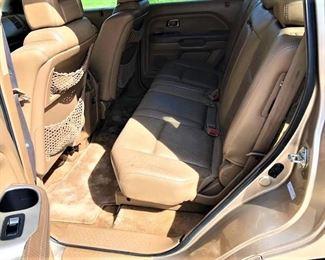 Honda Interior Passengers