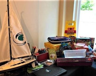 Model Boat and Games