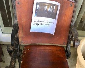 Lindenwood Sibley Hall chair