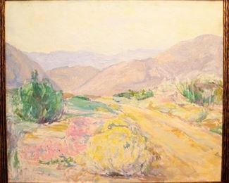 Steketee Landscape, Oil on Canvas