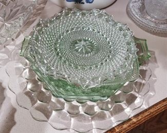 Depression Glass and Crystal