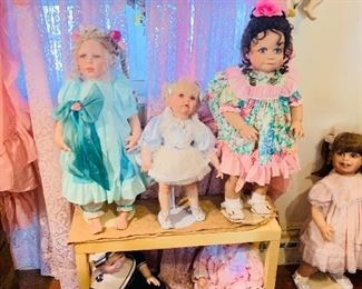 Over 1,000 Dolls, Massive Doll Collection
