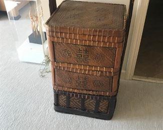 large Asian wedding basket $150