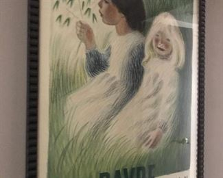 Danish Poster from 1945.  $250