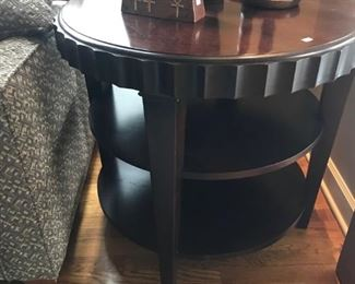 """""""Barbara Barry"""" Style side table $175"""