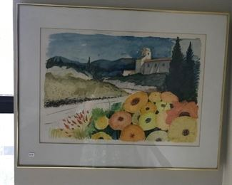 Provence water color $75