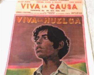 Chavez Poster 1968   $125