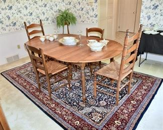 WILLETT Marblehead Cherry Dining Table w/2 Leaves
