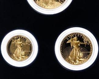 1988 W Gold American Eagle Proof Set
