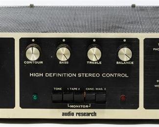 Audio Research SP 3A 1 Tube Pre amplifier