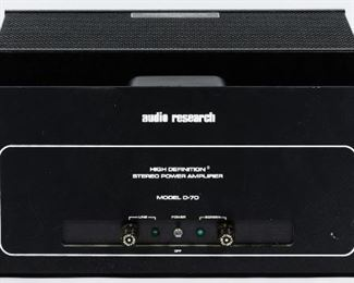 Auto Research D 70 MKII Power Amplifier