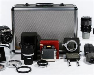Bronica S 2 Camera and accessories