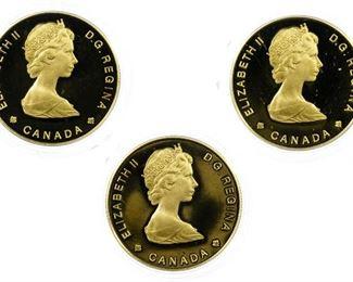 Canada 1984 100 Gold Assortment