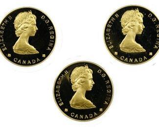 Canada 1985 100 Gold Coins