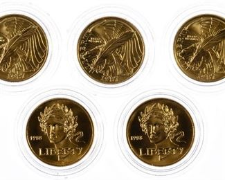 Gold Commemorative Assortment