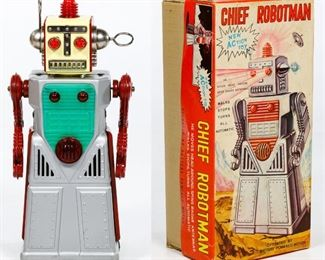 KO Japanese Chief Robotman Battery Operated Toy