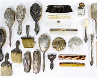Sterling Silver Vanity Item Assortment