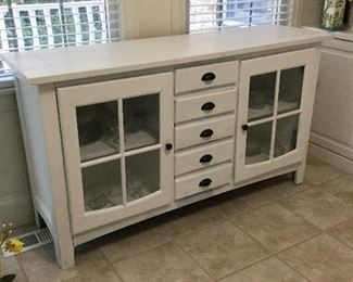 There are 2 identical cabinets like this one at the sale