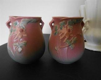 Roseville (Magnolia) vases