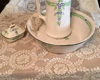 Antique Belgian Wash Set