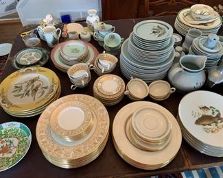 Thistleware, Spode, Antique Wedgewood, Pewter and more