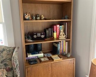 Matching Bookcases (2 available) or Entertainment Center with 3rd Middle section.