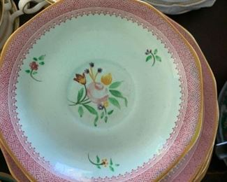 Calyx Ware 2087 Hand Painted China from England - vintage from the 1920s
