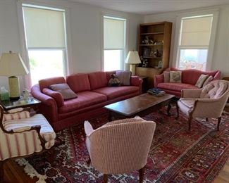 All furniture included (Oriental Rug not for Sale)