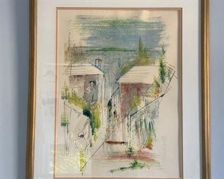 Alfred Birdsey Signed Original Watercolors  (Bermuda)