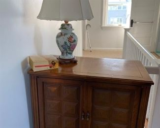 Singer Sewing Machine in built-in cabinet