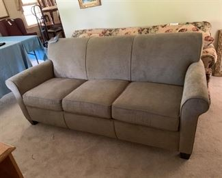 #42sofaFlexsteal brand new with tags gray sofa  $200.00