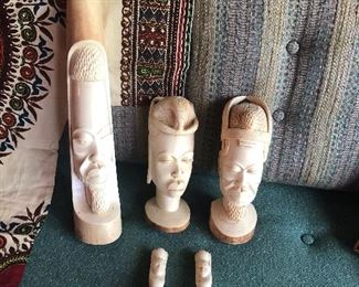 Carved African Ivory