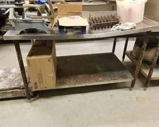 Metal Prep Table
